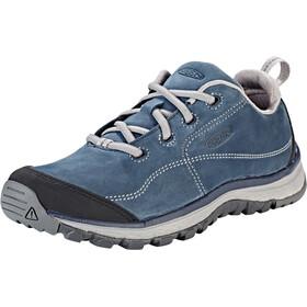Keen Terradora Leather Sneakers Damen blue nights/paloma